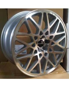 Dare Wheels LP-560 19 x 8.5 ET 42 / 5x112 / 66.6 Silver /polished face