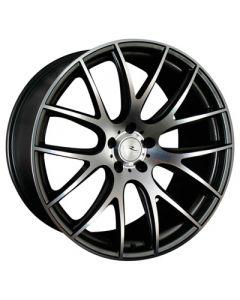 Dare Wheels NK1 19x9.5 5x120/25 Gun metal / polished face