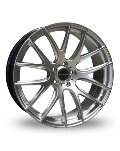 Dare Wheels NK1 19x9.5 5x120/25 Hyper Silver
