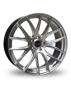 Dare Wheels NK1 20x8.0 5x108/45 Hyper Silver