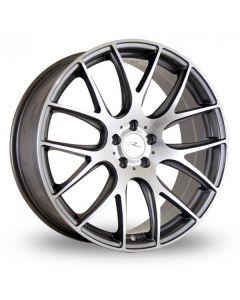 Dare Wheels NK1 19x8.5 5x120/38 Gun metal / polished face