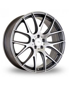 Dare Wheels NK1 19x9.5 5x120/38 Gun metal / polished face