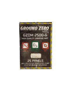Ground Zero GZDM 2500-GOLD 2,2mm butyylikumi valmisteinen vaimennusmatto