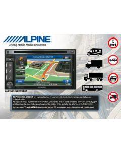 Alpine INE-W920R + TRUCK-G500