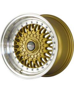 Japan Racing JR9 15x8 ET15 4x100/4x114.3 Gold