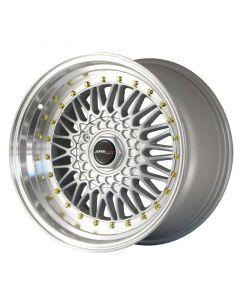 Japan Racing JR9 15x8 ET15 4x100/4x114.3 Silver