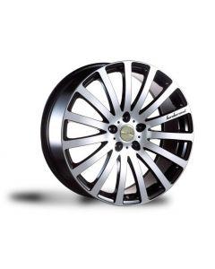 Dare Wheels Madisson 15x6.5 4x100/108 et40 Black/Polish face