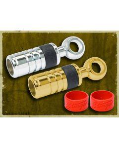 Stinger rengasliitin 8mm (22mm²) KULTA