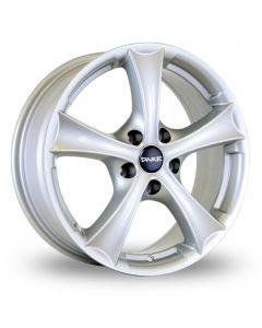 Dare Wheels T888 17x7.0 5x100/35 Silver